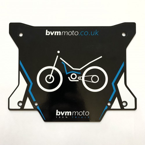 BVM Front Number Board
