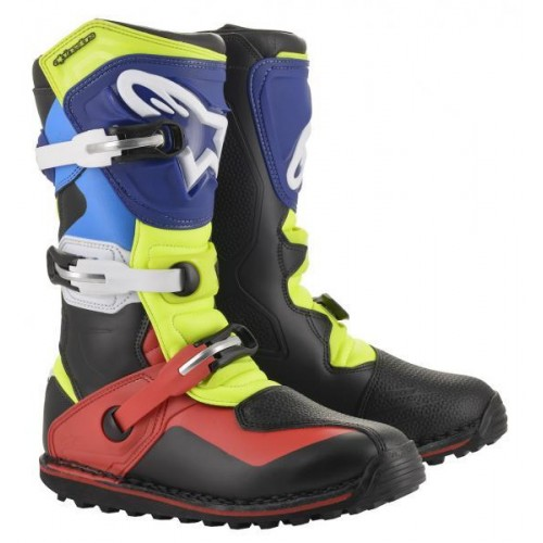 Alpinestars Tech T Boots Black/Red/Blue/Yello
