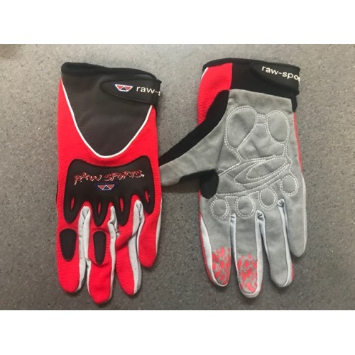 Rawsport / Hebo Trials Glove Red