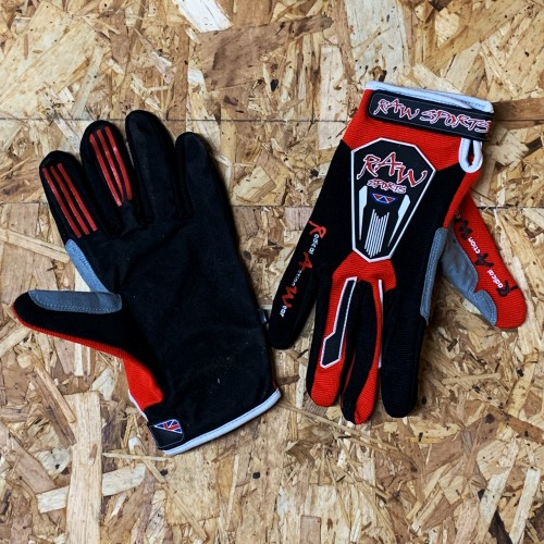 Rawsport / Hebo Trials Gloves Red Junior