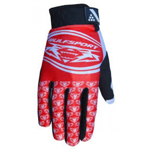 Wulf Trials Gloves Red