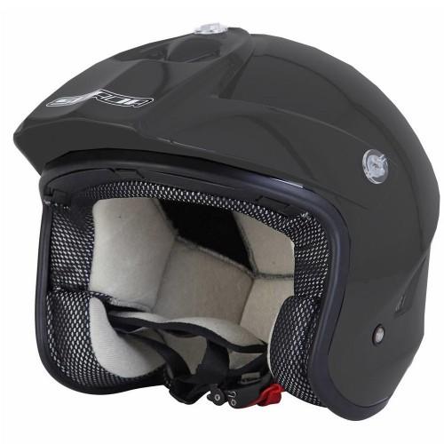 Wulf Vista Trials Helmet Black