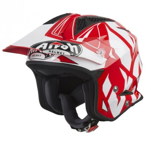 Airoh TRR S Convert Helmet Red Gloss