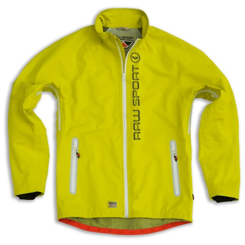 Raw Sports Hydro Tec Jacket Yellow