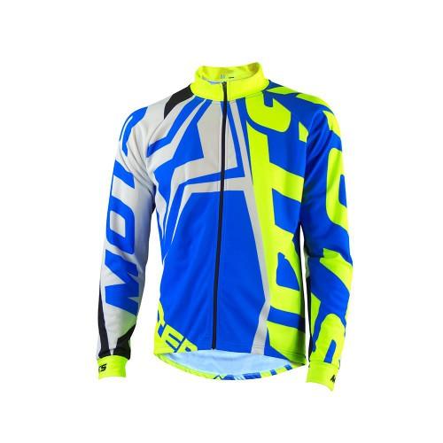 MOTS Step 4 Riding Jacket Blue/Fluo