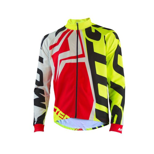 MOTS Step 4 Riding Jacket Red/Fluo