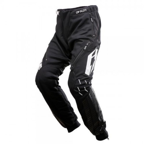Jitsie Omnia Solid Pants Black/White