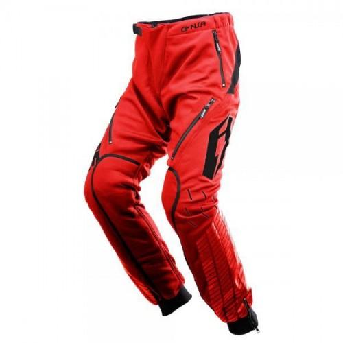 Jitsie Omnia Solid Pants Red/Black