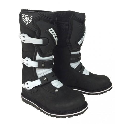 Wulf Cub Trials Boots Black