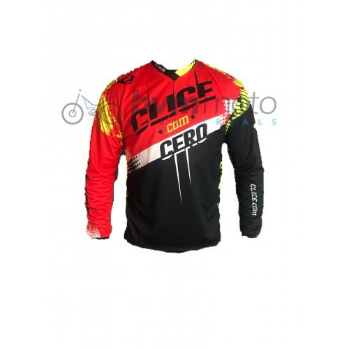 2018 Clice Cero Red Trials Shirt