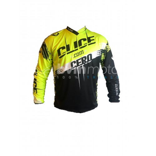 2018 Clice Cero Black Trials Shirt