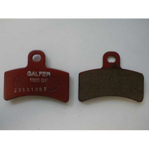 GALFER Brake Pads FD225 - Gas Gas TXT 99-01, Edition 02 Front & Rear