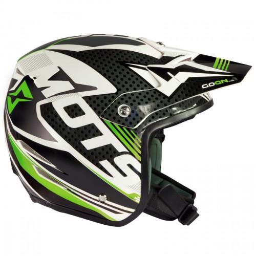 MOTS GO ON2 Green Fluo Helmet