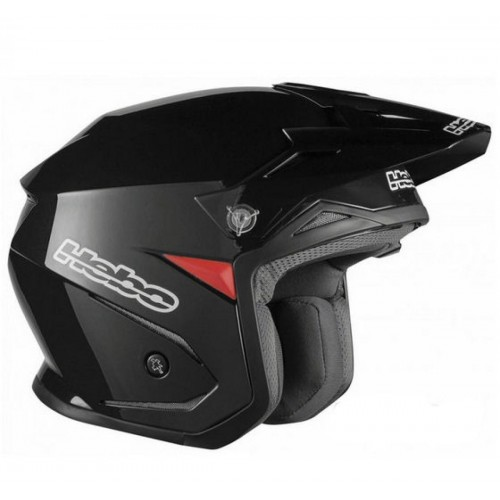 Zone 5 Mono Helmet Black