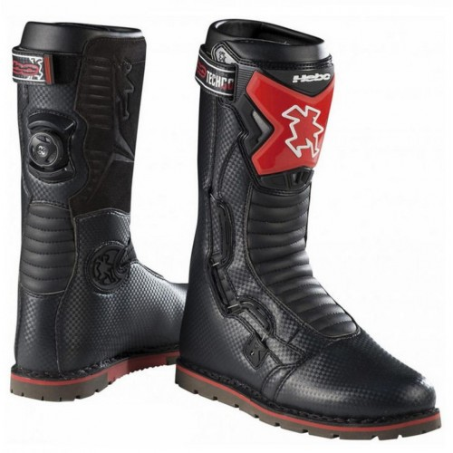 Hebo Tech Comp Boots Black/Red