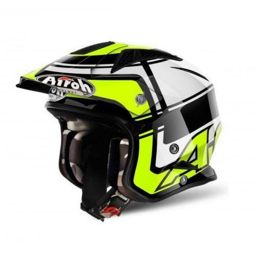 Airoh Wintage Helmet Black/Fluo