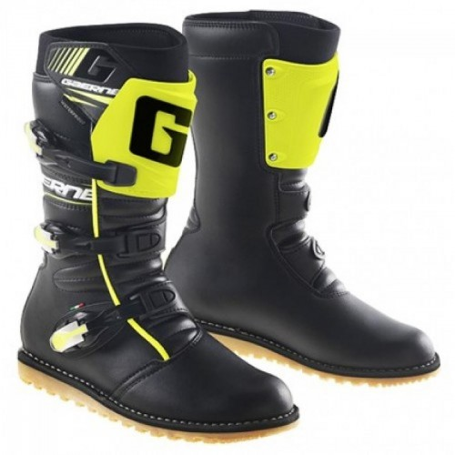 Gaerne Classic Black/Yellow Fluo Boots Lorica