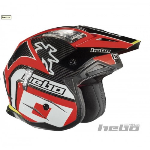 Hebo Zone 4 Carbon Red Helmet