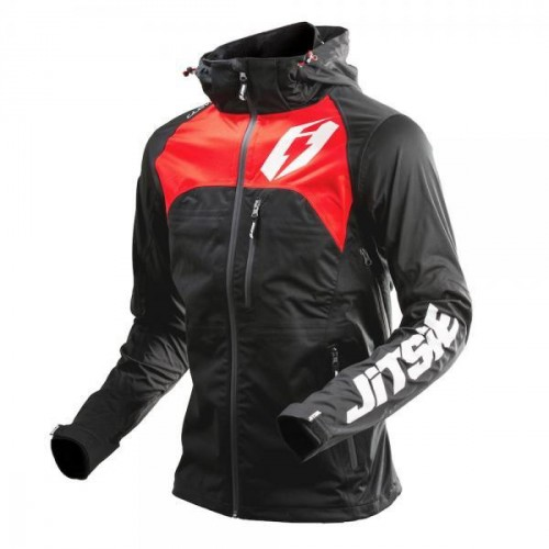 Jitsie Glow Jacket Black/Red